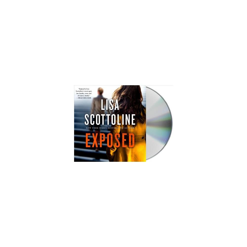 Exposed - Unabridged (Rosato & Dinunzio) by Lisa Scottoline (CD/Spoken Word)