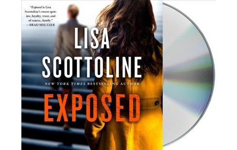 Exposed -  Unabridged (Rosato & Dinunzio) by Lisa Scottoline (CD/Spoken Word) - image 1 of 1