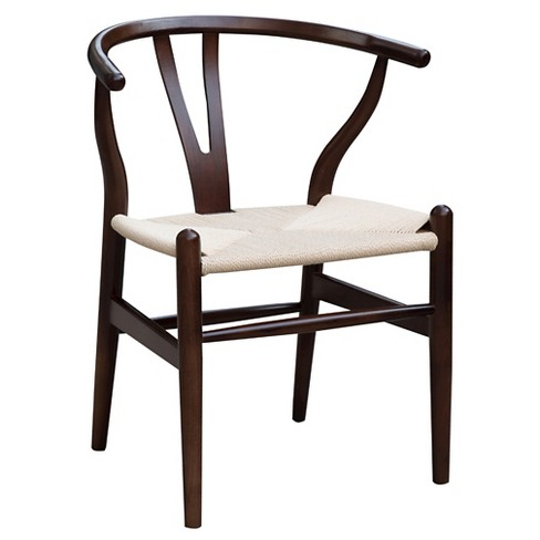 Woodstring Dining Chair - Walnut - Fine Mod Imports - image 1 of 5
