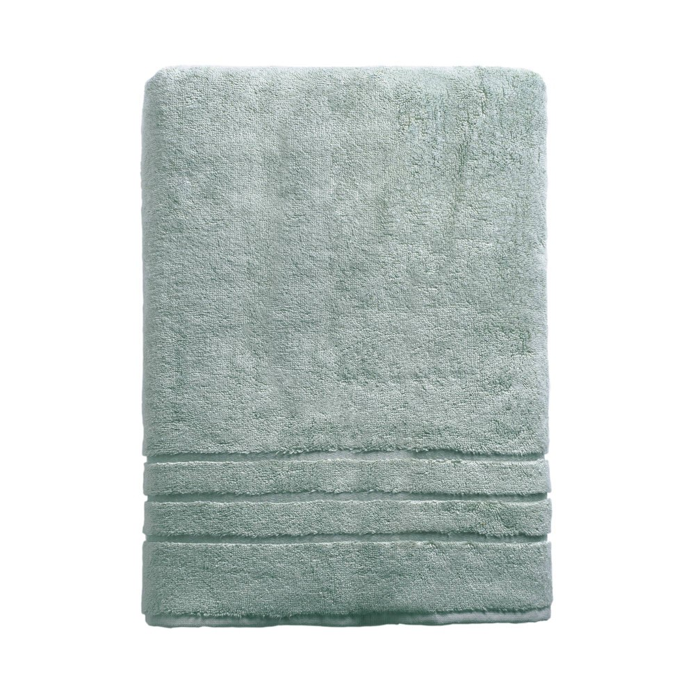 """Image of """"70""""""""x40"""""""" Rayon from Bamboo Bath Sheet Ocean Blue - Cariloha, Blue Blue"""""""