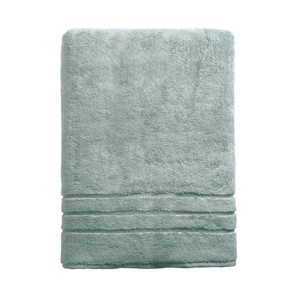 Image of Rayon from Bamboo Bath Sheet Ocean Blue - Cariloha