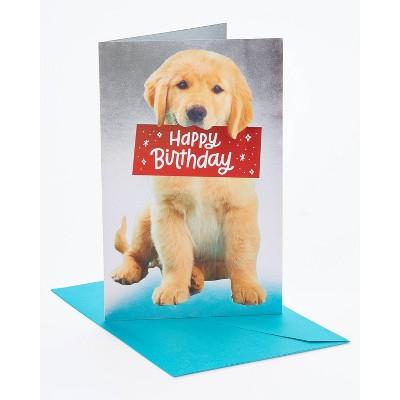 Birthday Card Puppy