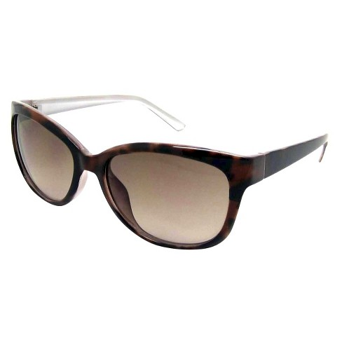 Women's Cateye Sunglasses - A New Day™ Brown - image 1 of 1