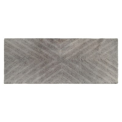 Textured Stripe Bath Rug Runner (23 X58 )Creamy Chai - Project 62™ + Nate Berkus™