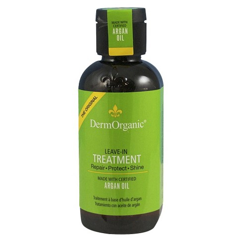 Dermorganic Argan Oil Leave-In Hair Treatment - 4 oz - image 1 of 1