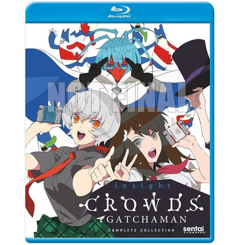 Gatchaman Crowds Insight:Ssn 2 Collec (Blu-ray) - image 1 of 1