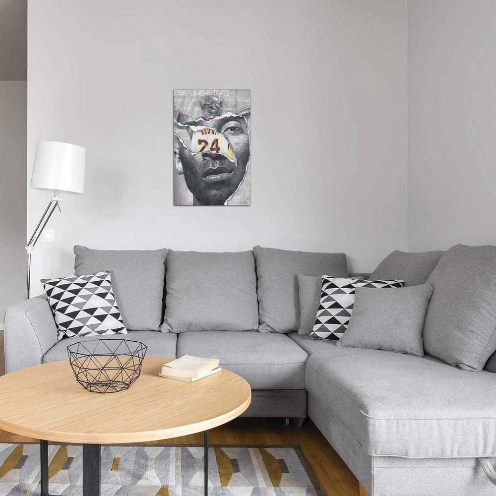 18 34 X 12 34 Dear Basketball By Josiah Jones Unframed Wall Canvas Print Icanvas