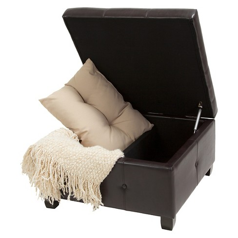 Hudson Storage Ottoman - Christopher Knight Home - image 1 of 4