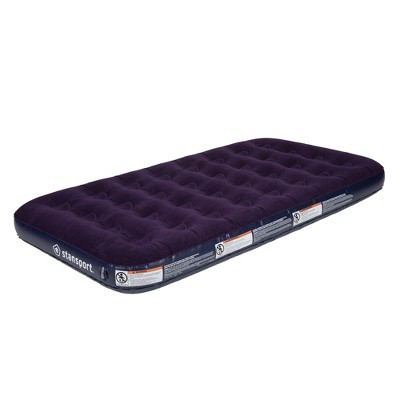 Stansport Deluxe Inflatable Air Bed Mattress Twin Size