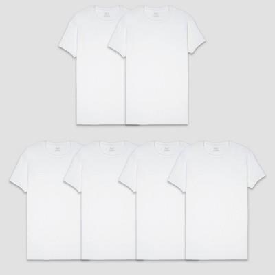 Fruit of the Loom Men's 5pk Coolzone Crew-Neck T-Shirt - White