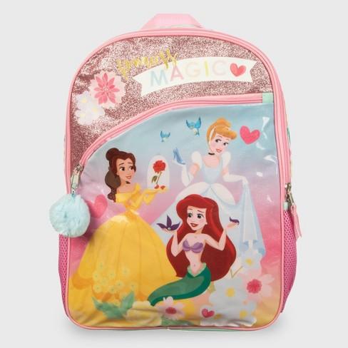 Disney Princess 16'' Kids' Backpack - Pink - image 1 of 4