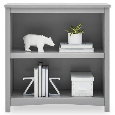 Delta Children Universal 2-Shelf Bookcase - Gray