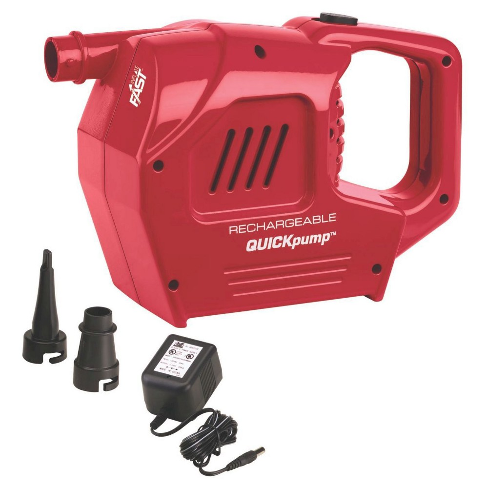 Image of Coleman QuickPump Rechargeable Pump, Red