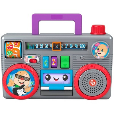 Fisher-Price Laugh & Learn Busy Boombox