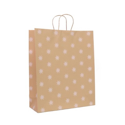 Extra Large Recycled Paper Star Kraft Gift Bag - Spritz™