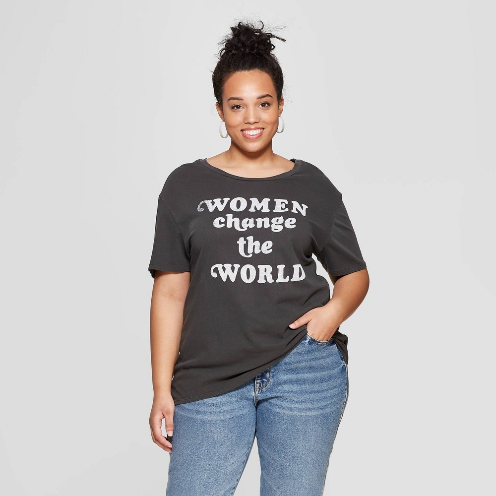 e406bf4b5d90f ... $18.00 Your casual chic ensemble takes on powerful new meaning every  time you wear this women's Never Underestimate Graphic T Shirt from Junk  Food.