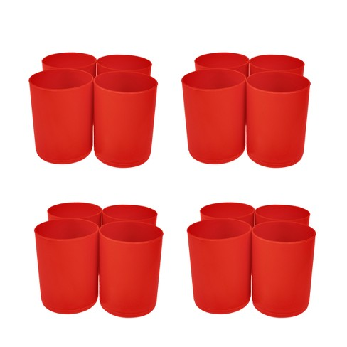 16ct Red Storage Cups Red - Bullseye's Playground™ - image 1 of 1