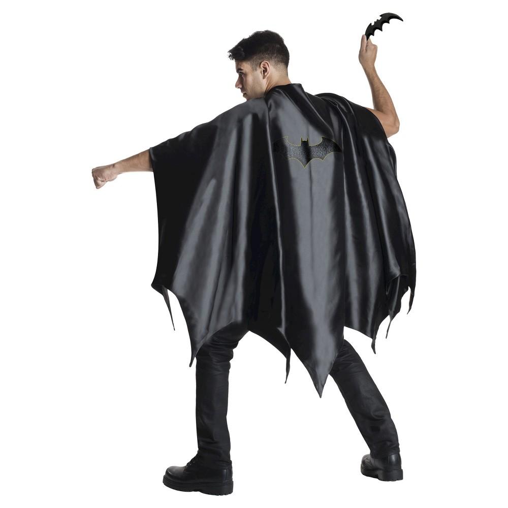 Image of Batman Adult Cape Black - One Size, Men's