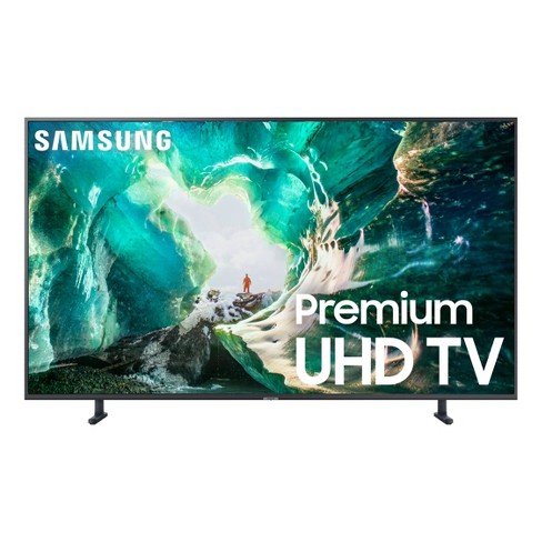 "Samsung 55"" Smart 4K UHD TV - Titan Gray (UN55RU8000FXZA)"