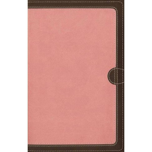 NIV, Thinline Bible, Imitation Leather, Pink, Red Letter Edition - by  Zondervan (Leather_bound) - image 1 of 1