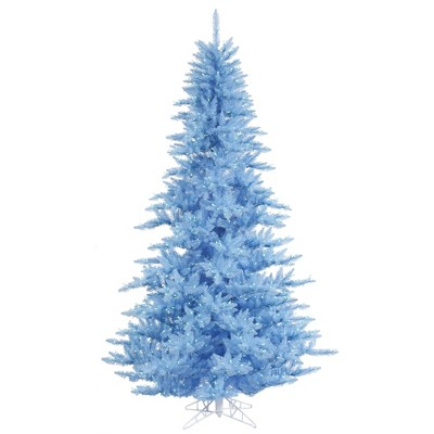 Vickerman Sky Blue Fir Artificial Christmas Tree