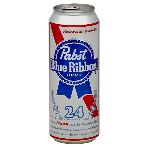 Pabst Blue Ribbon Beer - 24 fl oz Can - image 1 of 1