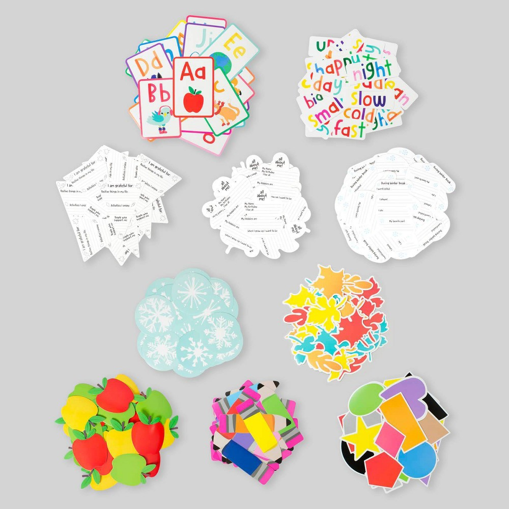 10pk Paper Accents - Bullseye's Playground was $10.0 now $5.0 (50.0% off)