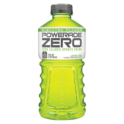 POWERADE Zero Lemon Lime Sports Drink - 32 fl oz Bottle - image 1 of 3