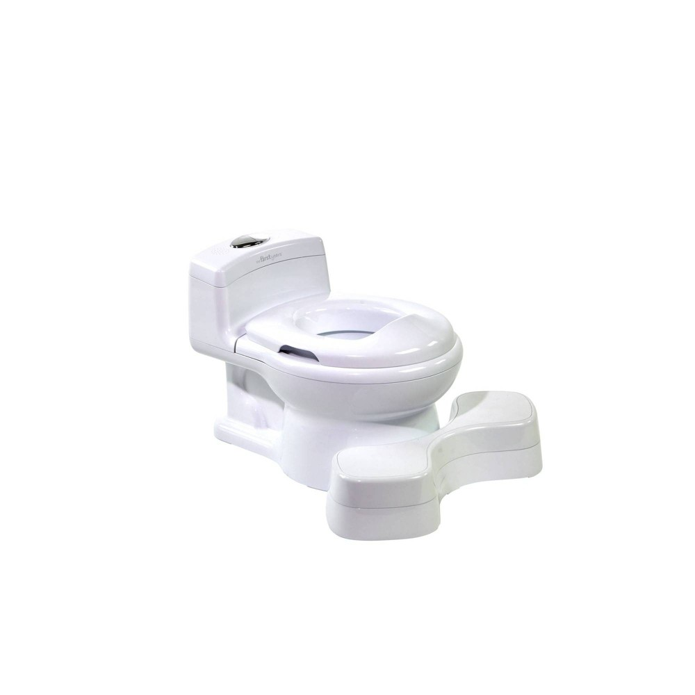 Image of The First Years Super Pooper Plus Potty Toilet Training Seat