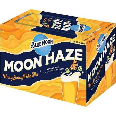 Blue Moon Haze IPA Beer - 6pk/12 fl oz Cans