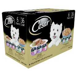 CESAR Classics & Home Delights Variety Pack Wet Dog Food - 36ct