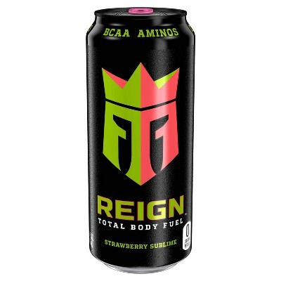 Reign Strawberry Sublime Energy Drink - 16 fl oz Can