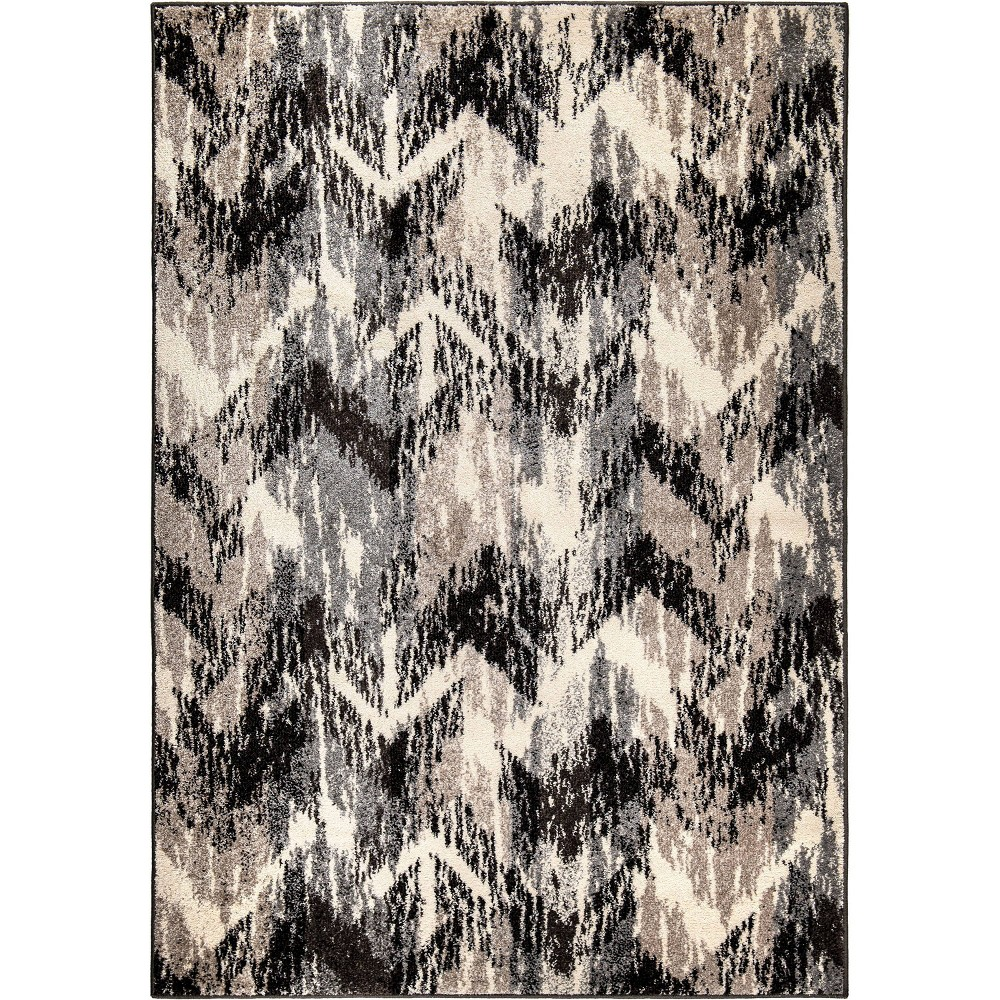 Best Review Sterling Gray Abstract Woven Area Rug 53X76 Orian