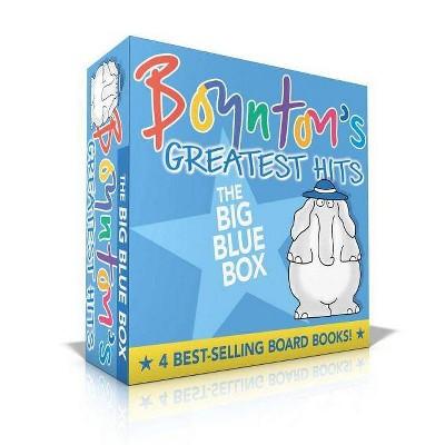 Boynton's Greatest Hits: Moo, Baa, La La La; A to Z; Doggies; Blue Hat, Green Hat (Volume 1) Boxed Set (Board Book) by Sandra Boynton