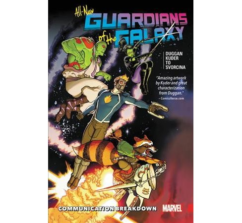 Guardians of the Galaxy 1 : Communication Breakdown (Paperback) (Gerry Duggan) - image 1 of 1