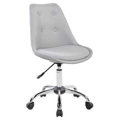 Armless Task Chair with Buttons - Techni Mobili