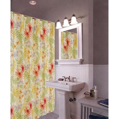 C&F Home Sea Flora Shower Curtain