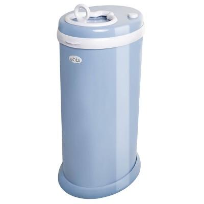 Ubbi Steel Diaper Pail - Cloud Blue