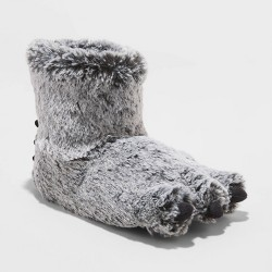Toddler Boys' Fenny Bootie Slippers - Cat & Jack™ Gray