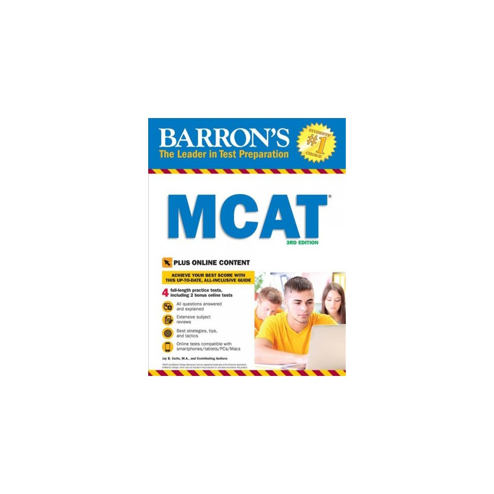 Barron's Mcat : Medical College Admission Test (Paperback) (Jay Cutts & Mariel Campbell & Louis Gotlib &