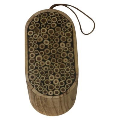 9  Wood Insect House - Brown - Threshold™