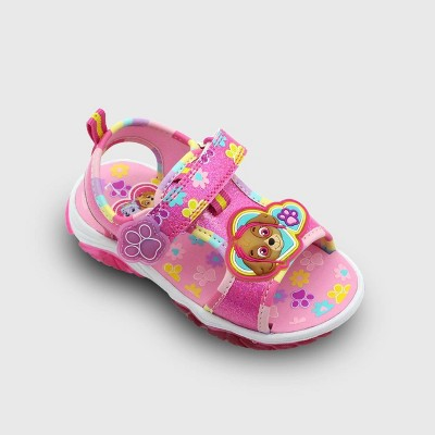 Toddler Girls' PAW Patrol Ankle Strap Sandals - Pink