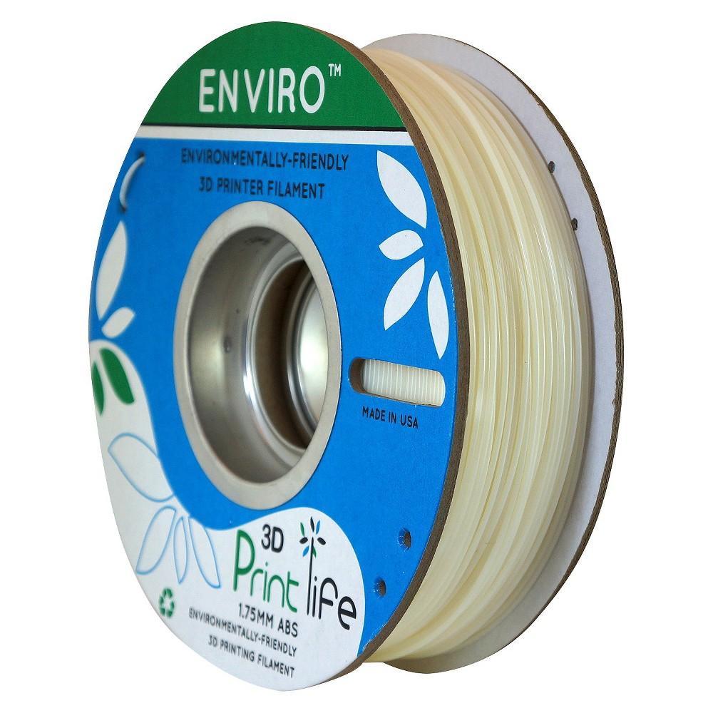 Image of 3D Printlife Enviro Eco-Friendly 1.75mm Premium Abs Filament - White (8130376)