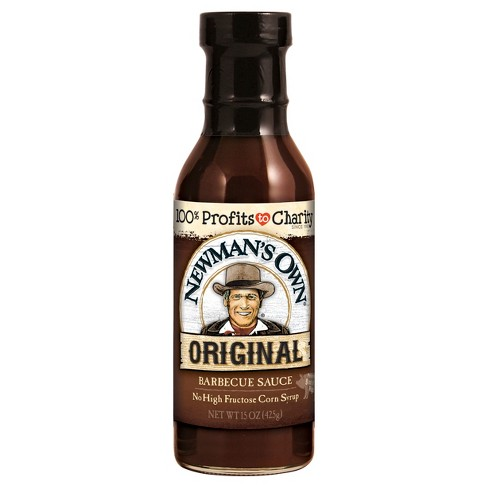 Newman's Own® Original BBQ Sauce - 15oz - image 1 of 1