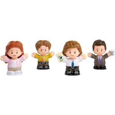 Fisher-Price Little People The Office Collector Figure Set
