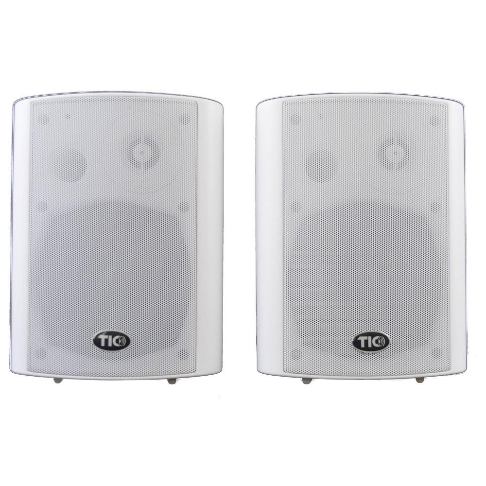 "TIC 5"" Wireless Outdoor Wifi Patio Speaker - White"