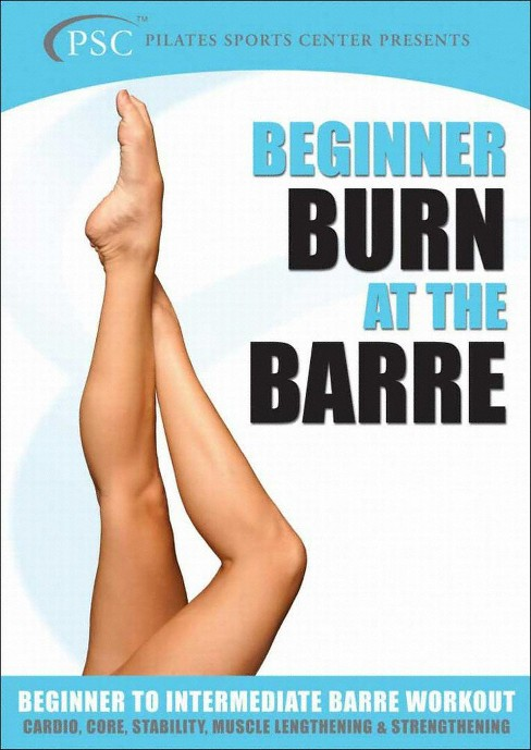 Burn at the barre for beginners (DVD) - image 1 of 1