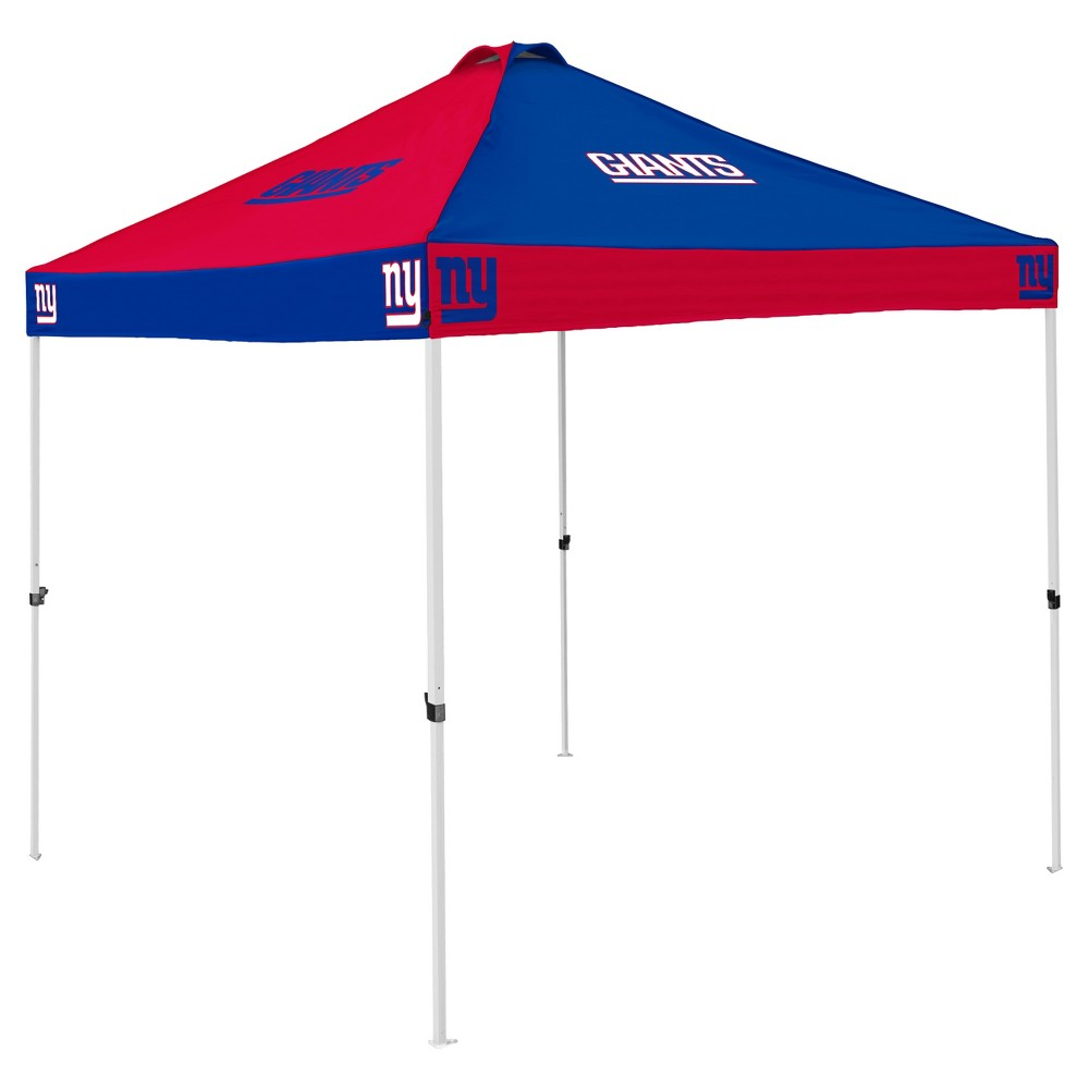 NFL New York Giants 9x9' Checkerboard Canopy Tent