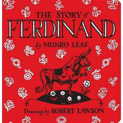 Story Of Ferdinand (Board Book)- by Munro Leaf