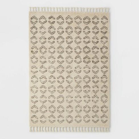 Hawthorne Dash Shag Rug Chocolate - Threshold™ designed with Studio McGee - image 1 of 4